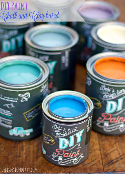 Debi's Design Diary DIY Chalk Paint Gift Set