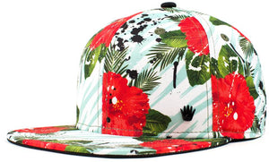 Oddities3000 - Rosa Snapback Hat
