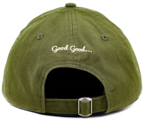 Oddities3000 - Leaf Dad Hat (olive)