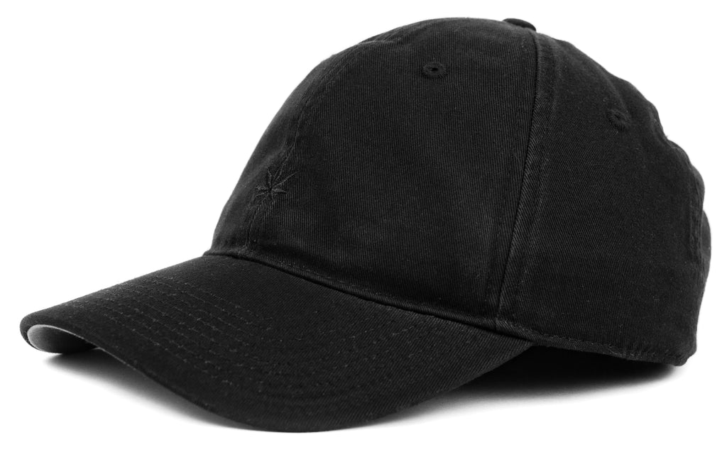 Oddities3000 - Leaf Dad Hat (black)