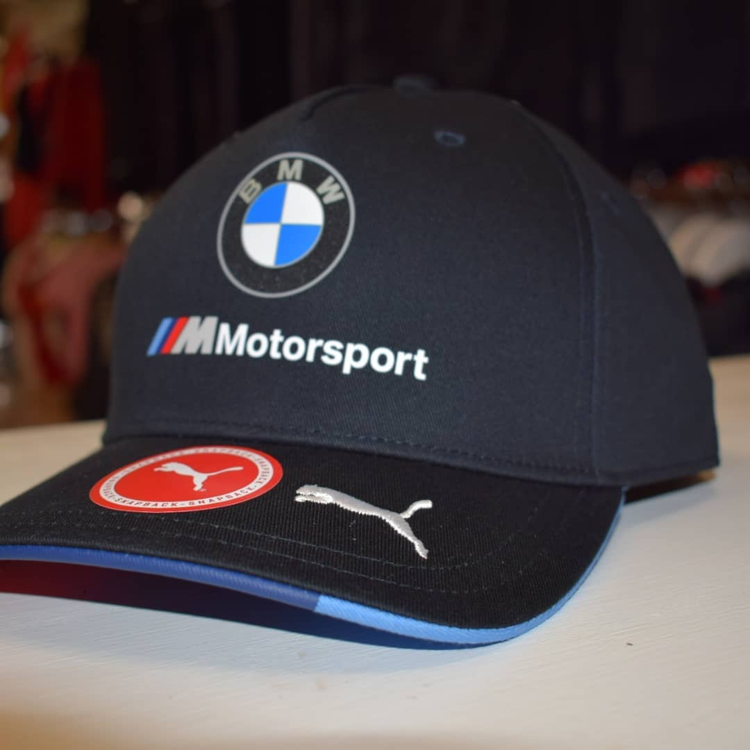BMW Motorsport 2018 Team Cap Grey