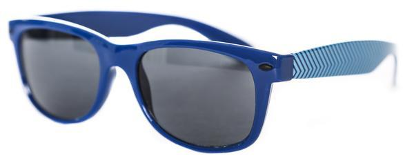 Oddities3000 - Chevron Sunglasses (Blue)