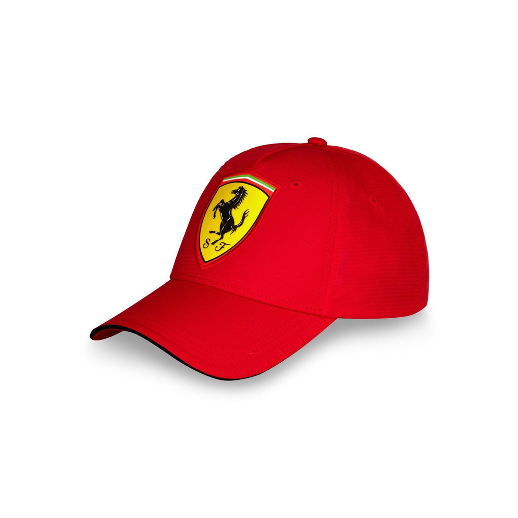 Scuderia Ferrari Scudetto Carbon Cap - Red