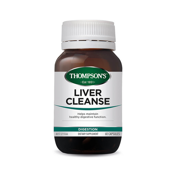 Thompsons Liver Cleanse 120 Capsules