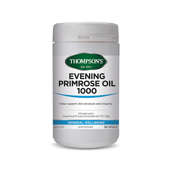 Thompsons Evening Primrose Oil 1000mg 300's