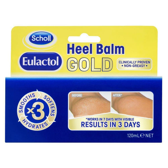 Eulactol Heel Balm Gold 120 mL - DominionRoadPharmacy