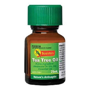 Bosistos Tea Tree Oil 100% 25mL - DominionRoadPharmacy