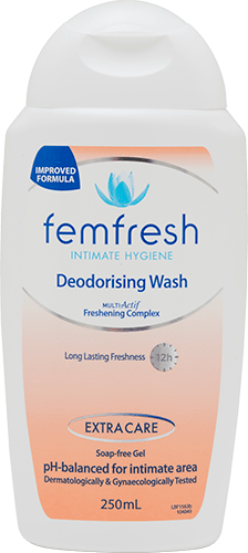 Femfresh Deodorising Wash 250ml (2 Pack) - DominionRoadPharmacy