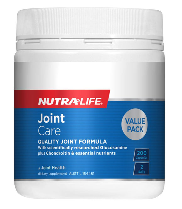 Nutralife Joint Care Glucosamine 200 Capsules