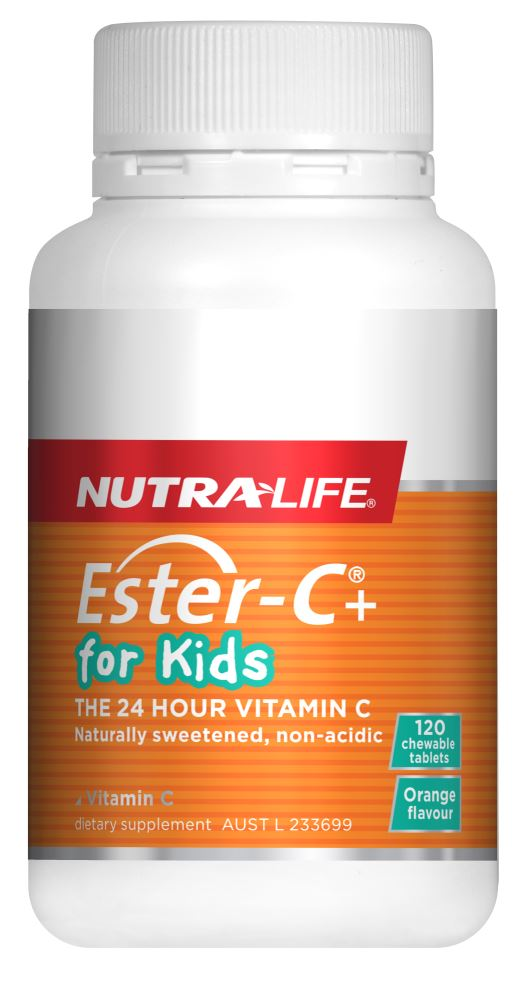 Nutralife Ester C For Kids chewable 120 tabs