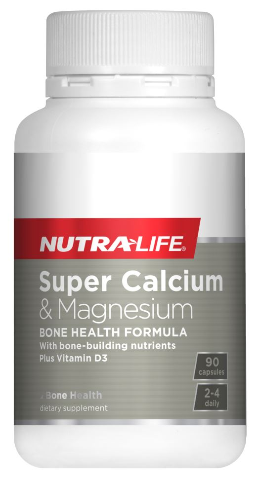 Nutralife Super Calcium And Magnesium with VitD Capsules 90