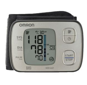 OMRON Wrist HEM6221 Blood Pressure Premium Monitor** 5 Years Warranty**