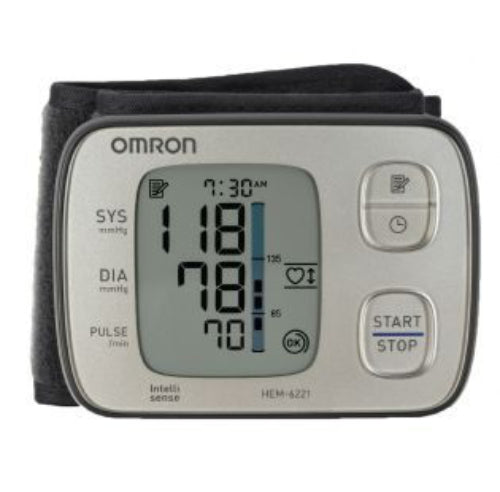 OMRON Wrist HEM 6221 Blood Pressure Premium Monitor** 5 Years Warranty**