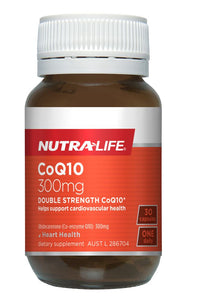 Nutralife CoQ10 300mg Caps 30's