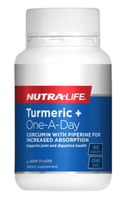 Nutralife Turmeric + One A Day 60 caps
