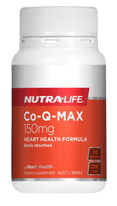 Nutralife Co Q Max 150mg Heart formula 30 caps