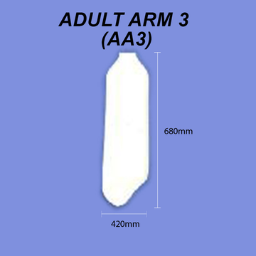 Adult Arm - Size 3 (Full Arm) Dri Cast Cover