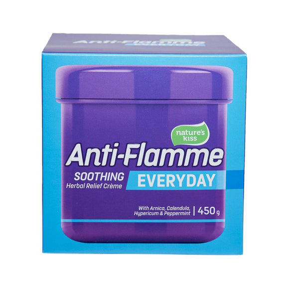 ANTI FLAMME HERBAL EVERYDAY RELIEF CREME 450G - DominionRoadPharmacy