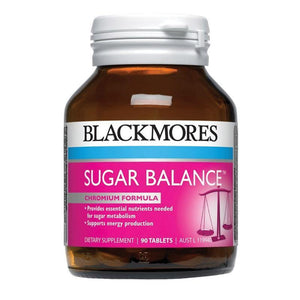BLACKMORES SUGAR BALANCE TABLETS 90 - DominionRoadPharmacy