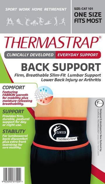 Thermastrap Back Support