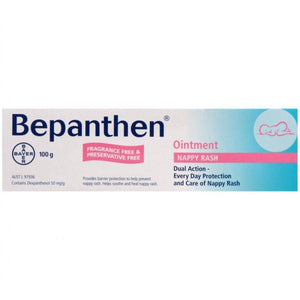Bepanthen Nappy Rash Ointment 100g - DominionRoadPharmacy