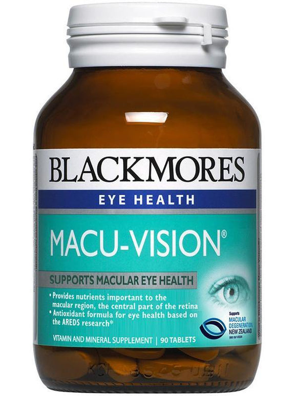 Blackmores Macu Vision Tablets 90 - DominionRoadPharmacy