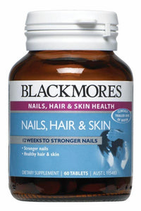 Blackmores Nails, Hair & Skin Health 60 tablets DC - DominionRoadPharmacy