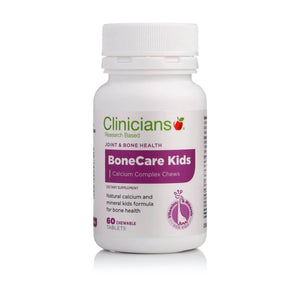Clinicians BoneCare Kids 60 Chewable Tablets