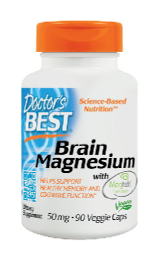 Doctor's Best Brain Magnesium with Magtein (75mg) 90 Veggie Caps