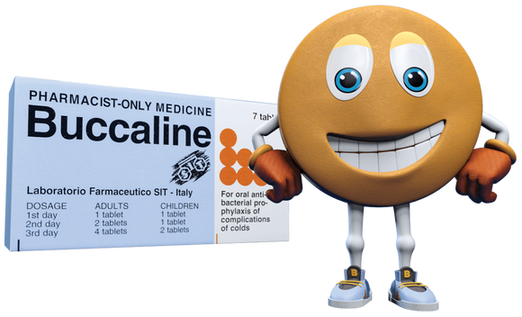 Bucclaine Natural Active Oral Vaccine 7 Tablets Pharmacist Only Medicine