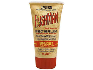 Bushman Insect Repellent Heavy Duty 75g - DominionRoadPharmacy