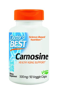 Doctor's Best Carnosine (500mg) 90 Veggie Caps