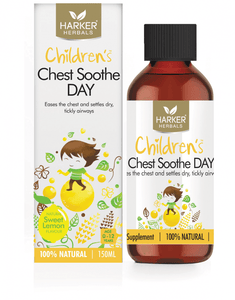 Harker Herbals Childrens Chest Soothe DAY Liquid 150ml-Sweet Lemon - DominionRoadPharmacy