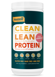 NUZEST Clean Lean Protein 1KG WILD STRAWBERRY