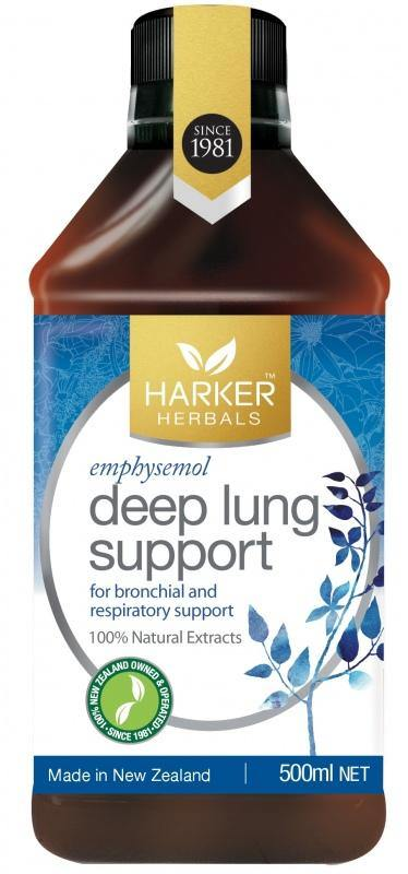 Malcolm Harker Deep Lung Support Emphysemol 500 ml - DominionRoadPharmacy