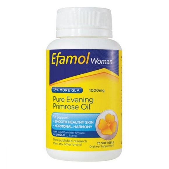 Efamol Women Evening Primrose Oil 75 Softgel Caps - DominionRoadPharmacy
