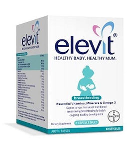 Elevit Breastfeeding 60 Capsules ** On Sale ** - DominionRoadPharmacy
