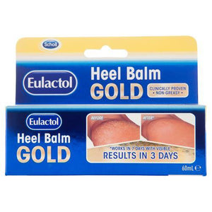 Eulactol Heel Balm Gold 60mL - DominionRoadPharmacy