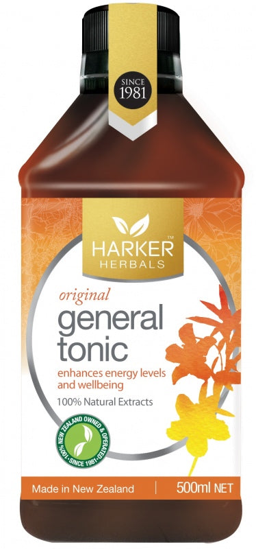 Malcolm Harker Original General Tonic 250 ml - DominionRoadPharmacy