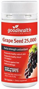 GOOD HEALTH Grape Seed 25000 120 caps - DominionRoadPharmacy