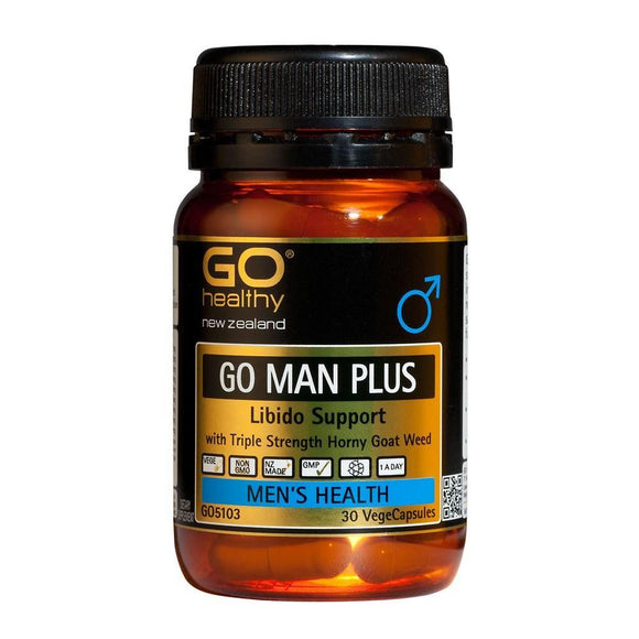 GO Healthy GO Man Plus Capsules 60 - DominionRoadPharmacy