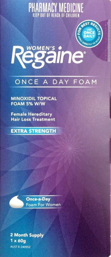 Regaine Women's Extra Strength Minoxidil 5% 2 months supply 1*60 g Pharmacy Medicine Quantity Restriction (2) Applies