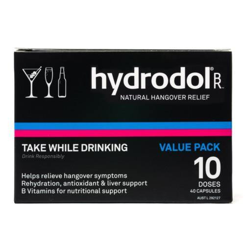 Hydrodol Natural Hangover Relief 10 Doses