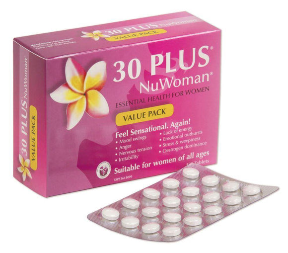 30 plus NUWoman 120 tablets - DominionRoadPharmacy