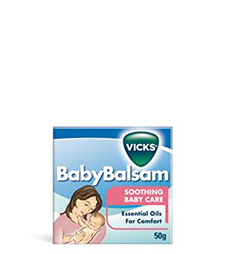 Vicks BABY BALSAM Soothing Baby Care Essential Oil for Comfort 50 gm