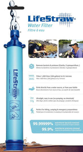 LifeStraw Personal Water Filter, Minimum 1000Litre - DominionRoadPharmacy