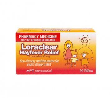 Loraclear 10mg 90 Tablets