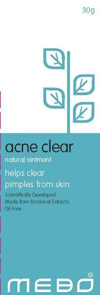 MEBO Acne Clear Natural Ointment 30gm
