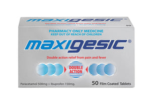 Maxigesic 50 Tablets