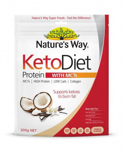 Nature's Way Keto Diet Protein With MCT's 200gm